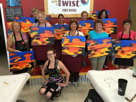 paint nite ft myers out painting with a twist fort myers