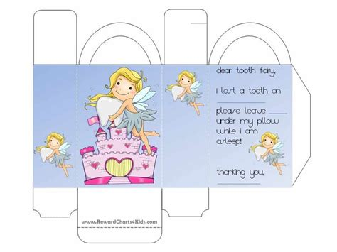 Tooth Card Template by Tooth Letter Free Printable