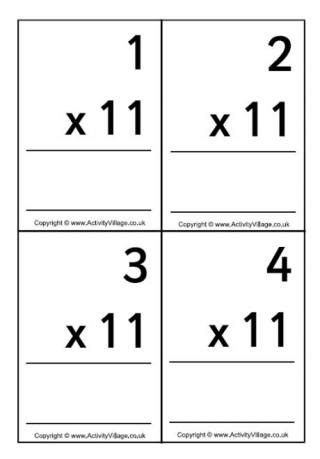 make your own multiplication flash cards free printable multiplication flash cards with answers on