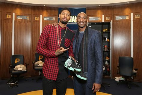lakers house shoes kobe gives paul george his shoes after the game vigilant