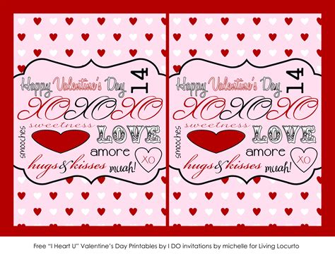 free day cards free printable cards notes living locurto