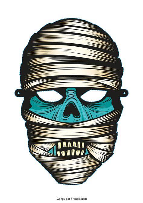 Masque D Halloween A Imprimer   Geekizer.com
