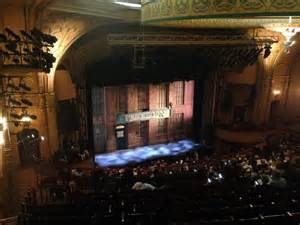 boots nyc theater al hirschfeld theatre section mezzanine left row t seat 17