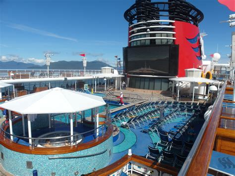 disney cruise line alaska review facilities aboard the