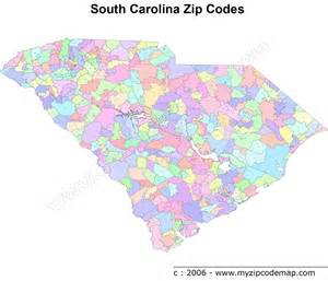 south carolina zip code maps free south carolina zip