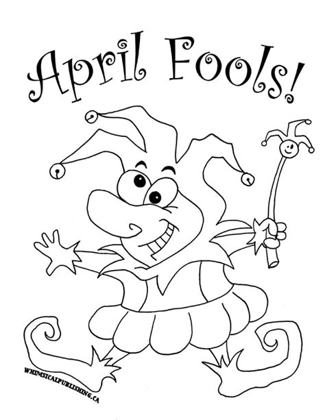 April Fool S Day Children S Stories Poems Carolyn S April Coloring Pages