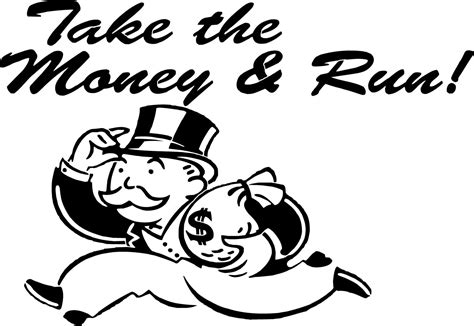 How Does It Take To Run A Background Check Take The Money And Run Monopoly Mr Moneybags And 50 Similar Items
