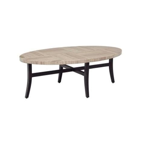 home depot outdoor coffee table brown greystone patio coffee table stock dyt005