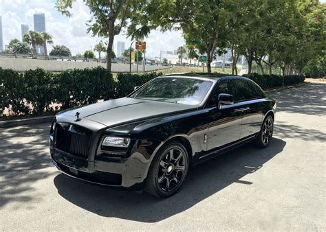 Sebastian Devolga Events Rolls Royce Ghost Matte Black