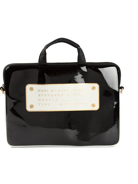 marc by marc laptop bag in black lyst