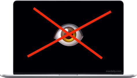 web cam mac how to disable webcam facetime camera on mac completely