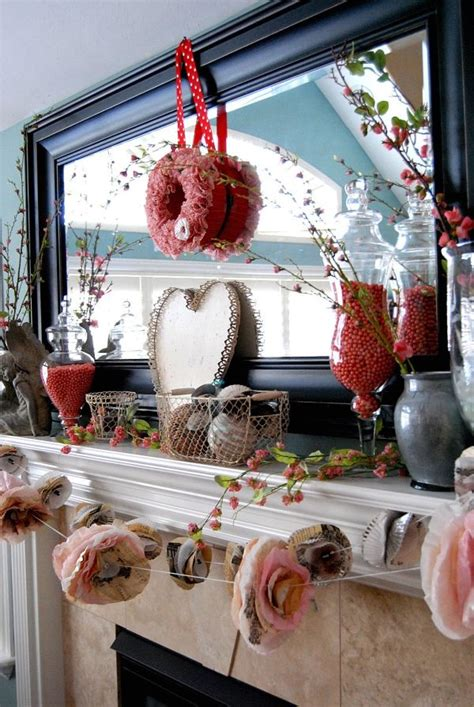 valentine decoration ideas 20 gorgeous valentine s day mantel d 233 cor ideas