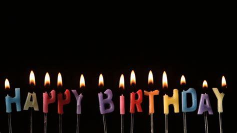 Happy Birthday Candle Lilin Musik Happy Birthday birthday candle stock footage