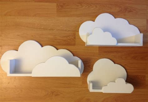 cloud shelves for classroom or nursery future baby maybe