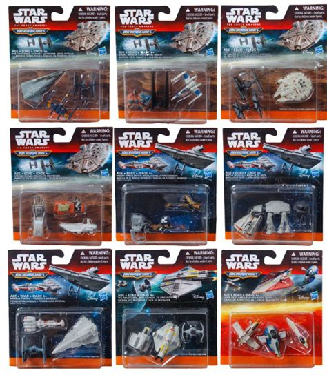 Wars Tiny Imperial Ships Micromacines it s friday wars the awakens toys