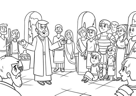 bible coloring pages app peter and cornelius coloring page bible coloring pages