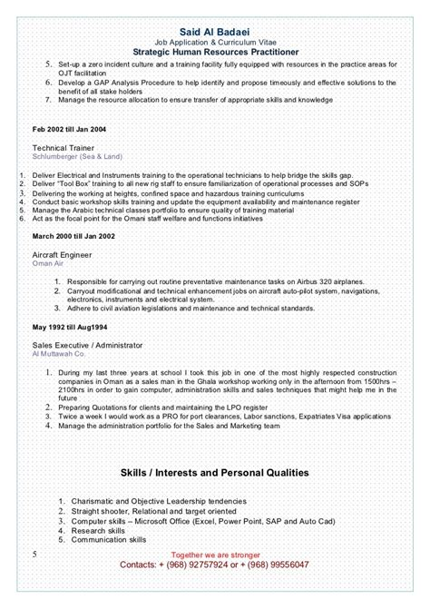 Resume Set Up by Setting Up A Resume Resume Ideas
