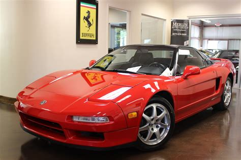 old car manuals online 2005 acura nsx navigation system used 1992 acura nsx red coupe v6 3l manual leather all original for sale acura nsx 1992 for