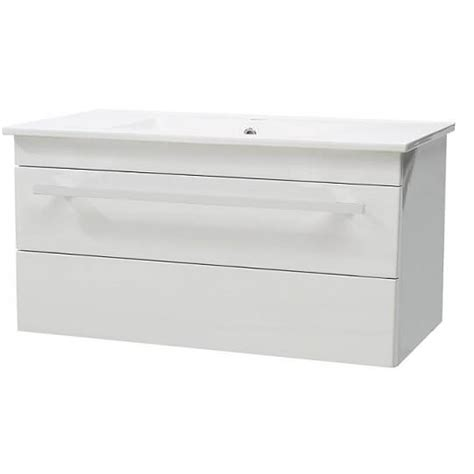 white gloss wall mounted bathroom cabinet 800mm vanity units white gloss 805mm wall mounted vanity
