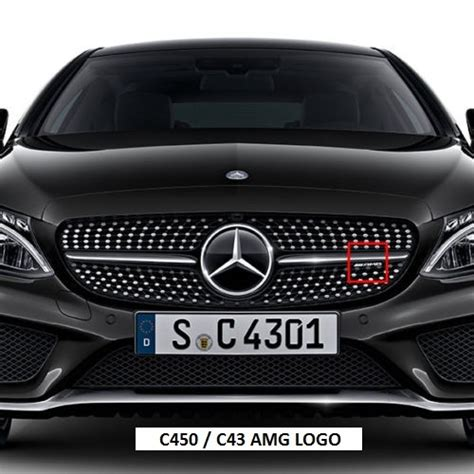 Sprei Cars No 1 Fata mercedes amg lettering for front grille of c43 amg