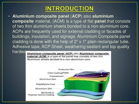 Panel Acp acp panel