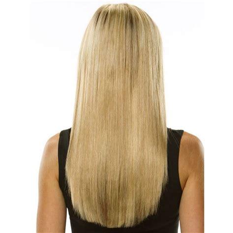 Hairclip 40 Cm Lurus clip on l 246 sh 229 r 40 cm 613 ljusblond k 246 p