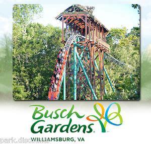 Busch Gardens Williamsburg Season Pass by Busch Gardens Virginia Tickets Smalltowndjs