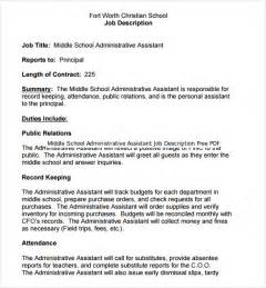 12 administrative assistant job description templates