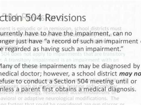 section 504 plan section 504 plan youtube