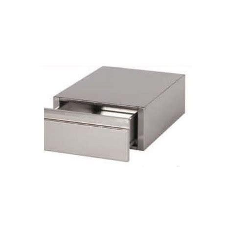 bloc 1 tiroir monobloc gn 1 1 inox aisi 304 pour table