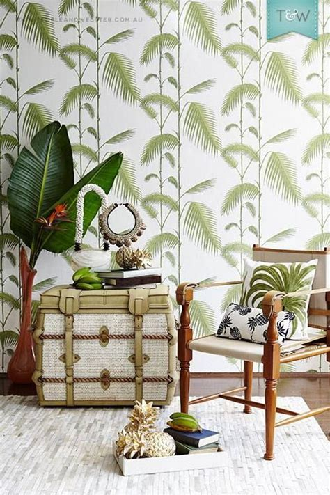 botanical interiors trend 2015 jungle wallpaper from jungle interior moodboard the blog d 233 co