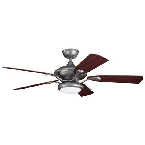 patio ceiling fans with lights kichler lighting 310127wsp aldrin patio 52 quot transitional