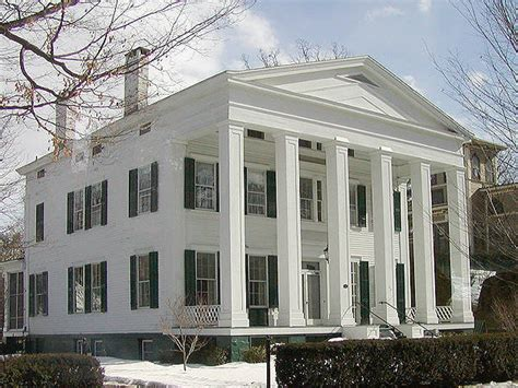 greek revival style house greek revival