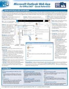 Office 365 Owa Start Guide Outlook Web App For Office 365 Reference Guide Dcf