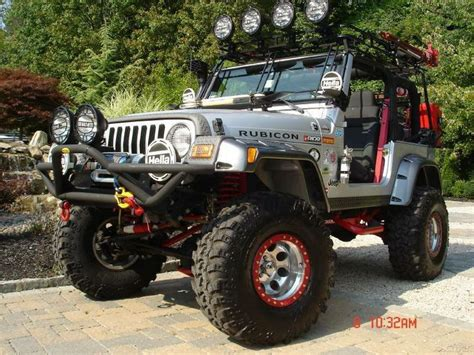 Decked Out Jeep Wrangler Best Road Vehicles Luxury Stuff