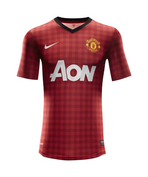 United Home by Nike Football Unveils Manchester United Home Kit For The