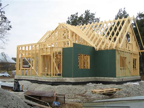 house frame timber framed house