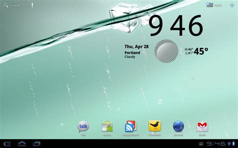 my water live wallpaper apk my water live wallpaper pulled from transformer ported to motorola xoom droid