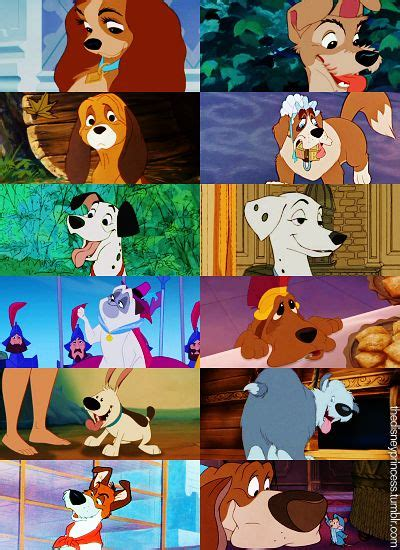 disney dogs disney copper and mulan on