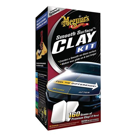 G 2 Pack meguiar s 80 g smooth surface clay kit 2 pack mi10116 the home depot