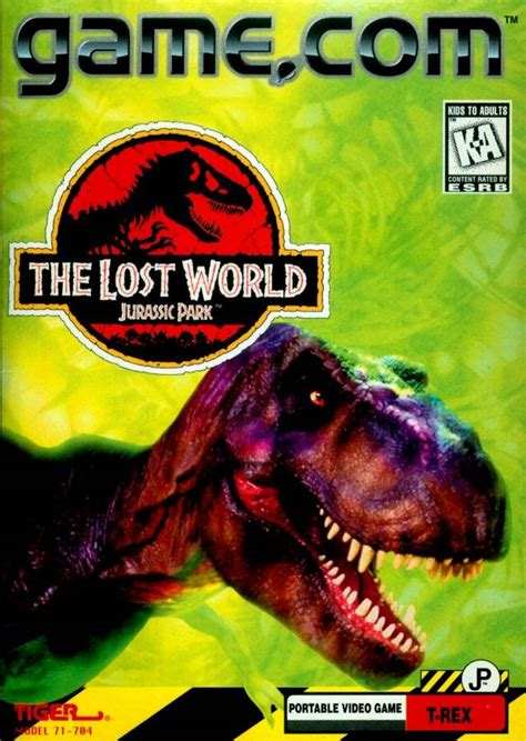 the lost world jurassic park the lost world jurassic park game com first