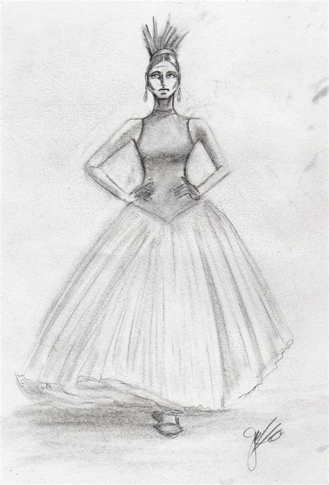 drawing of mcqueen dress three by gabbyred on deviantart