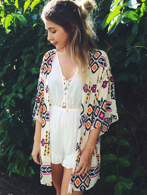 Or Look Summer Trend The Kimono The Fashion Tag