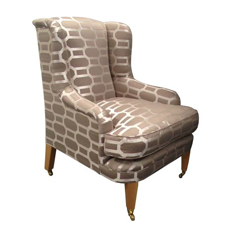 A Wing And A Chair by Warbleton Wing Chair Handmade In Uk Chairmaker