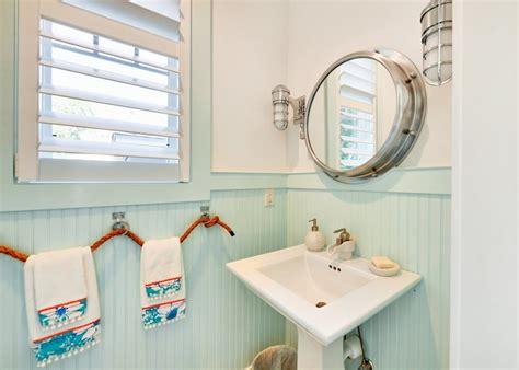 bathroom beach decor ideas seafoam green bathroom cottage bathroom martha stewart