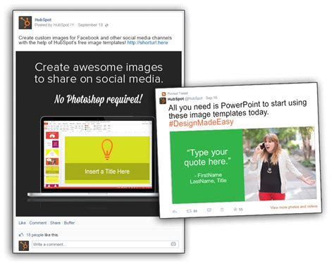 hubspot social media template 6 social media lessons from the best brands in content