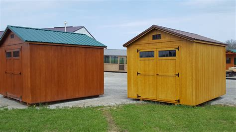 Hilltop Storage Sheds by Is The Time To Buy A New Storage Shed