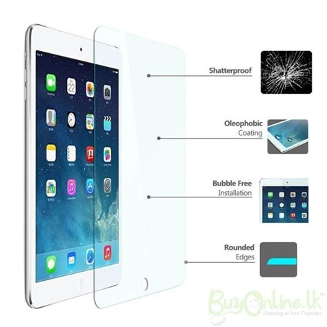 Tempered Glass New Air tempered glass screen protector for air 2
