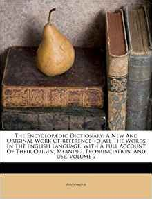new views on old subjects social scientific and political classic reprint the encyclop 230 dic dictionary a new and original work of