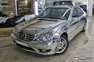 Chrome Mercedes Mercedes W203 Chrome Chrime Wrap Benztuning